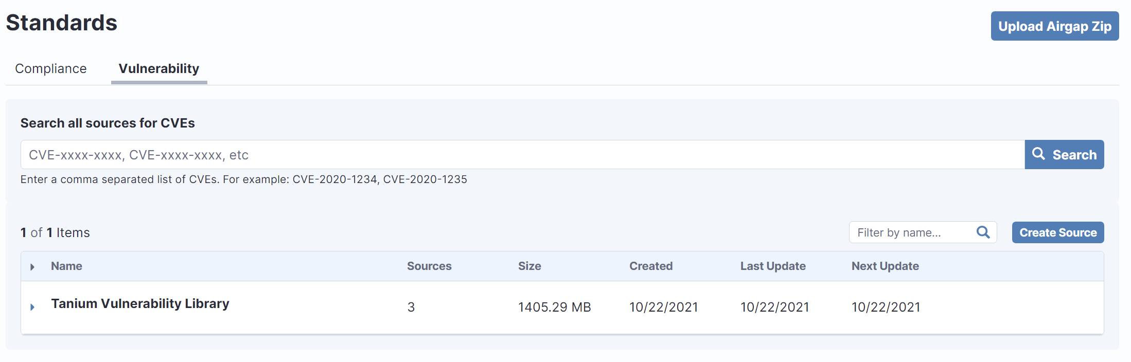 Working with configuration compliance benchmarks and