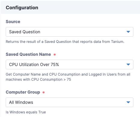 Configuring ServiceNow destinations